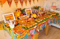 Lion Guard 1st Birthday Party