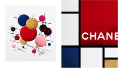 Colour is an art. Tribute to Piet Mondrian and Kazimir Malevitch. Made with LE VERNIS DE CHANEL.