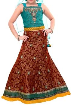 Kids-Girls-Sharara-2015-Lehenga-Choli-Party-Wedding-Dress-Suits-Indian.jpg (339×500)