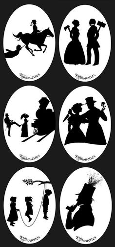 I like things that are pretty and cute and dark and creepy and bloody and horrific and silly. Halloween Train, Halloween Crafts, Halloween 2014, Creepy Pictures, Halloween Pictures, Silhouette Portrait, Silhouette Art, Creepy Houses, Halloween Silhouettes
