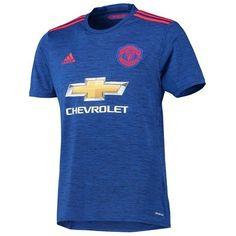 Manchester United 16-17 Udebanetrøje Kortærmet.  http://www.fodboldsports.com/manchester-united-16-17-udebanetroje-kortermet-1.  #fodboldtrøjer