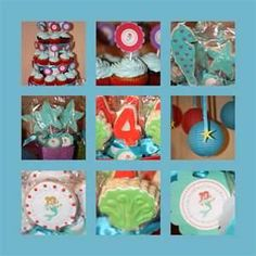 Image Search Results for homemade ariel birthday invites