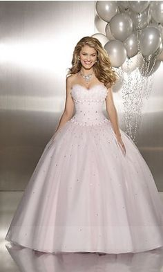 Natural Ball Gown 8770,Long Sweetheart Prom Dresses