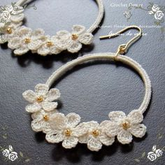 crochet earrings More: