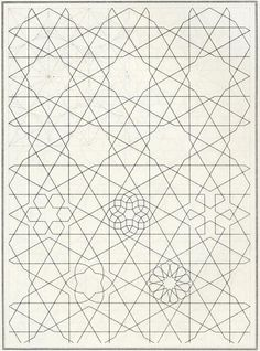 pattern in islamic art, bou 089. The website this is from is a great source.