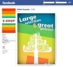 Facebook shop template