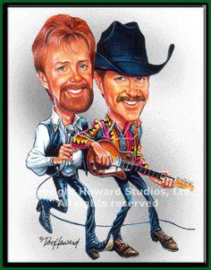 Brooks & Dunn by Don Howard