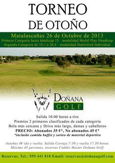 Torneo de Otoño Doñana Golf