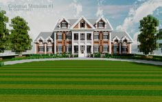 Colonial Mansion 1 | Architecture, creation #3967