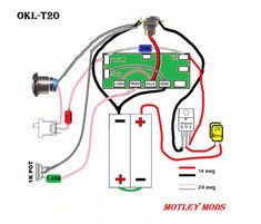 motley mods box mod wiring diagrams,led button,switch parallel series,led  angel eye button,wiring pwm box mod,okr t10,okl t20,box mod wire diagram,mosfet