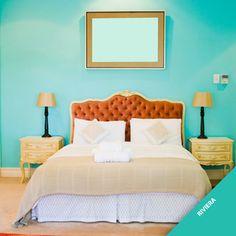 """Ambientes claros ganharão um charme especial com o tom """"Riviera"""". A nossa cor tendência 2013 também traz positividade e bem-estar ao ambiente."""