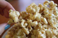 Caramel Fluff Popcorn