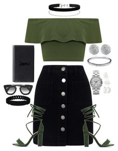 """Marc Fish"" by believeindiamonds on Polyvore featuring Marc by Marc Jacobs, Miss Selfridge, WearAll, Monica Vinader, Chanel, Charlotte Russe, Prada and Yves Saint Laurent"