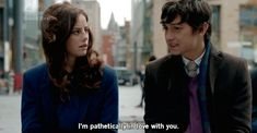 """Skins, season episode """"Fire: Part aired 8 July Effy Stonem is played by Kaya Scodelario and Dominic is played by Craig Roberts. Dom: """"It is. Because I'm pathetically in love with you. Effy Stonem, Tv Show Quotes, Movie Quotes, Love Images, Skins Fire, Hipster Blog, Craig Roberts, Skins Uk, Pre Party"""