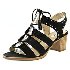 Dune London Womens Ivanna Gladiator Sandal Black 7 M US * Continue to the product at the image link.