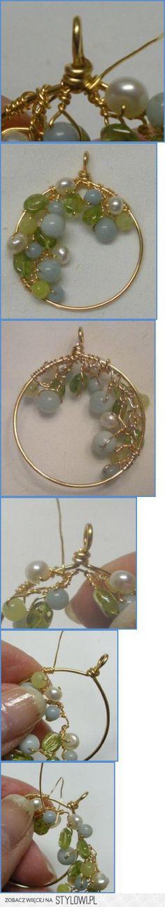1 | Perlenohrringe, Indische und Drahtschmuck