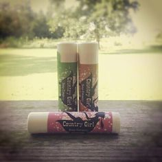 Best Seller!!  Country Girl Soap Company's Lip Balm!  www.countrygirlsoapcompany.com