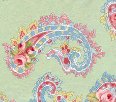 baby - with tropical flowers Motif Paisley, Paisley Fabric, Paisley Design, Paisley Pattern, Paisley Print, Indigo Prints, Textile Prints, Textiles, Arabesque