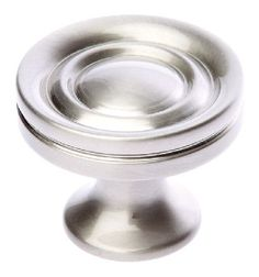 Prima Satin Nickel Decorative Cabinet Knob Satin nickel decorative cabinet knob available in various sizes. Sold complete with fixing bolt. http://www.MightGet.com/january-2017-12/prima-satin-nickel-decorative-cabinet-knob.asp