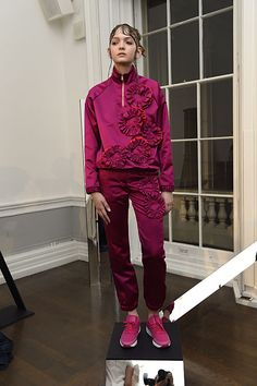 Caitlin Price (Fashion East) AW15 || Nash & Brandon Rooms