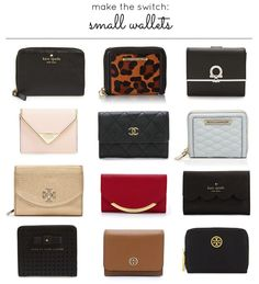 Make the Switch: Small Wallets || Glitter, Inc.