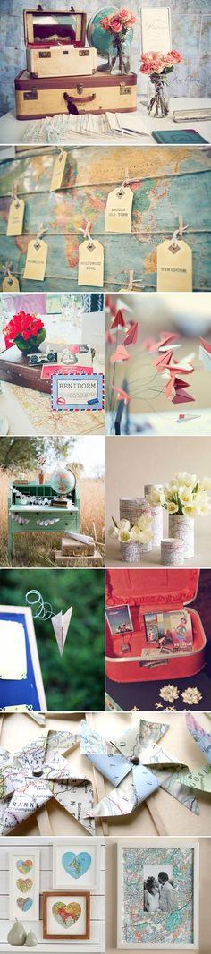 #travel themed weddings
