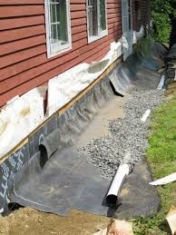 Resultado De Imagem Para Concrete And Covered Side Drainage System For Home
