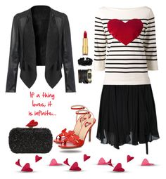 """""""My heart sweater"""" by juliehalloran ❤ liked on Polyvore featuring Étoile Isabel Marant, Marc Jacobs, Valentino, Diane Von Furstenberg, Givenchy, Jennifer Behr, Isaac Mizrahi, hearts, red and RedValentino"""