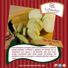 La Piccolina Trattoria: TIPS de cocina #6 La Trattoria La Piccolina