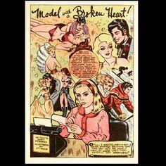 """One day he'd be mine"" #girlcomics #vintagecomics #romancecomics by somevelvetmorningx"
