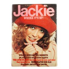 Jackie Magazine was a big hit in the 1970s, this looks like an Annual