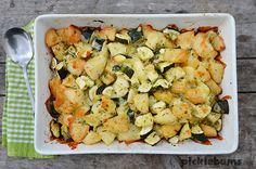 Easy Cheesy Potato and Zucchini Bake Recipe on Yummly