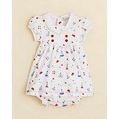 Kissy+Kissy+Infant+Girls'+Navigator+Print+Dress+and+Diaper+Cover+Set+-+Sizes+0-9+Months