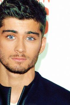 Zayn Malik One Direction Moustaches, Beautiful Eyes, Gorgeous Men, Ex One Direction, Facial, Raining Men, Zayn Malik, Male Face, His Eyes