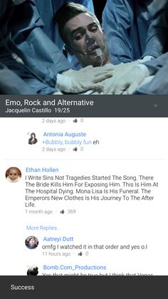 Omfg, I knew the songs were connected, but that comment O.O