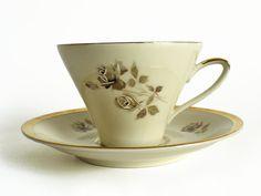 Johann Seltmann Vohenstrauss demitasse coffee cup and saucer - Landeck