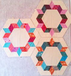 English paper piecing--what are the chance I would ever do this??