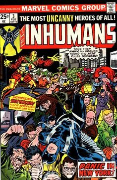 Inhumans (1975 1st Series) 3