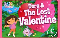 Dora the Explorer - Dora and the Lost Valentine - Dora Movie Game/Dora Game
