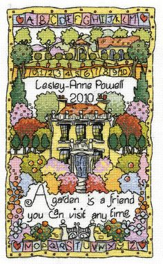 Garden Sampler, designed by Michael Powell.