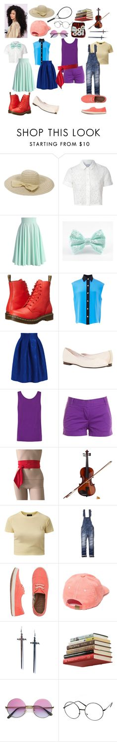 """Steven Universe: Connie Maheswaran"" by notasupervillian ❤ liked on Polyvore featuring moda, Glamorous, Chicwish, Dr. Martens, FAUSTO PUGLISI, Helmut Lang, J.Crew, Rosin, Abercrombie & Fitch e Reef"