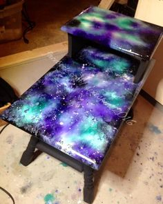 Galaxy End Table