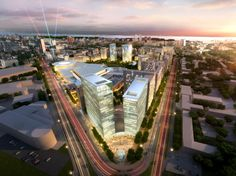 BDP Architects Completes Russian Masterplan in Samara | ArchDaily
