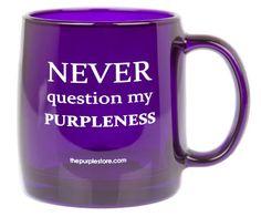 Purple Love, All Things Purple, Purple Lilac, Shades Of Purple, Deep Purple, Purple Stuff, My Favorite Color, My Favorite Things, Purple Kitchen