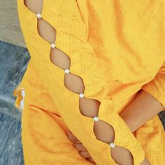 Kurti Sleeves Design, Sleeves Designs For Dresses, Neck Designs For Suits, Kurta Neck Design, Dress Neck Designs, Sleeve Designs, Simple Kurta Designs, Fancy Blouse Designs, Kurta Designs Women