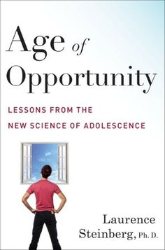"""A caller recommended the book """"Age of Opportunity"""" by Lawrence Steinberg."""