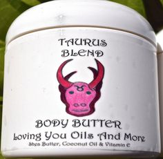 Taurus Body Butter by LovingYouOilsAndMore on Etsy