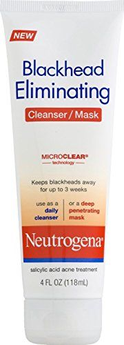 Neutrogena Blackhead Eliminating Skin Cleanser/Mask 4 oz (Pack of 11) -- More info could be found at the image url.