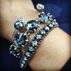 Spikes, jewels and bling! www.stelladot.com/sites/sylviacuff #stelladotbysylvia