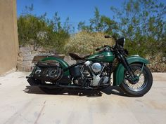 Harley-Davidson : Other 1946 KNUCKLEHEAD KNUCKLE